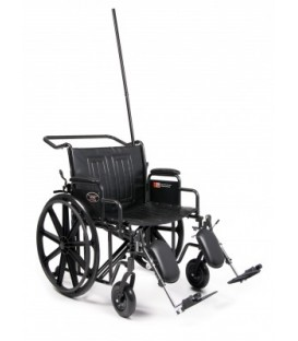 Everest & Jennings Traveler HTC Heavy Duty Bariatric Wheelchair