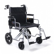 Everest & Jennings Aluminum Bariatric Transport Wheelchair