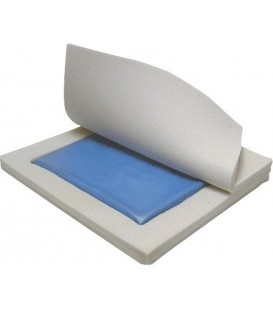 "Gel ""E"" 2"" General Use Gel/Foam Wheelchair Cushion by Drive"