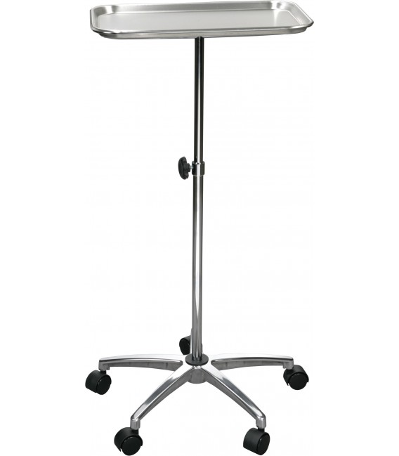 """Mayo Instrument Stand with Mobile 5"""" Caster Base"""