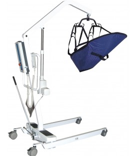 Elec Patient Lift Rechargable Battery 4 Pt Cradle -Drive