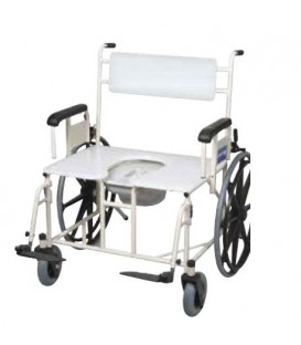 "Gendron 5215 Bariatric 26"" Wheeled Shower Commode - 750 lbs"