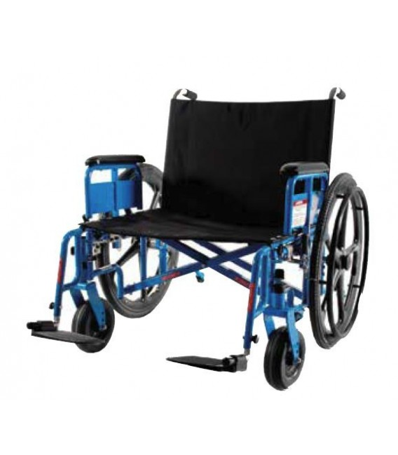 Bariatric MRI Wheelchair by Gendron model 4650MR - 850 lbs