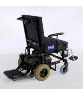 Gendron 7700 Attendant Ride - Power Transport Bariatric Chair