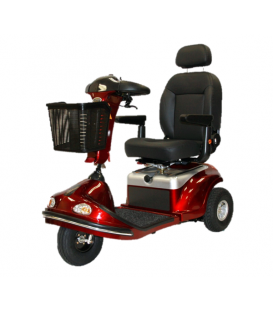 Shoprider Enduro XL3+ Heavy Duty 3-Wheel Bariatric Scooter - 500 lbs