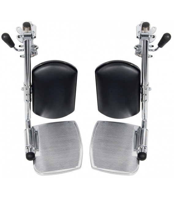 Swing-away Elevating Leg Rests for Sentra EC Heavy Duty Extra Wide