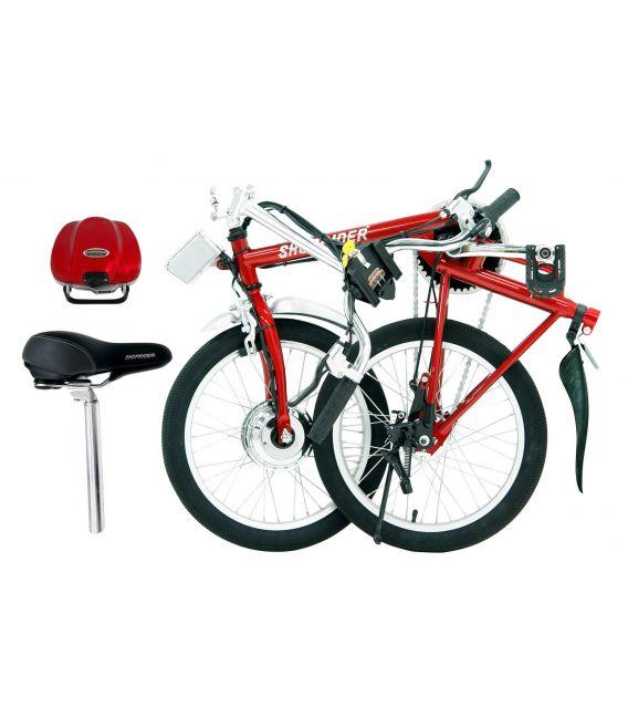 Shoprider Sunrunner Power Assist Folding Electric Bike - SFB-18