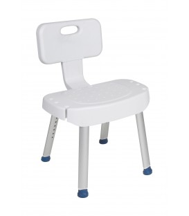 Shower Chair with Folding Back -  Drive
