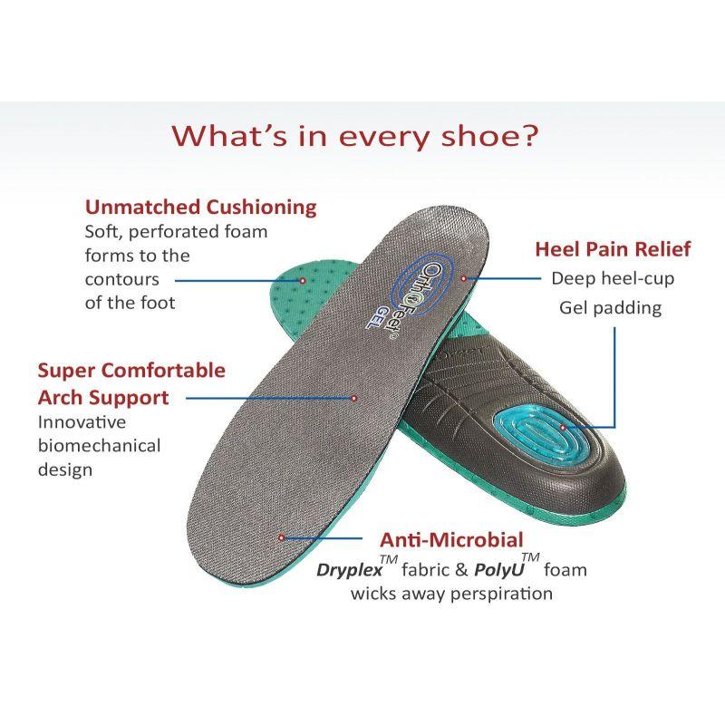 cf76420a955b OrthoFeet Women s Serene Diabetic Shoes - Black - 891 - American ...