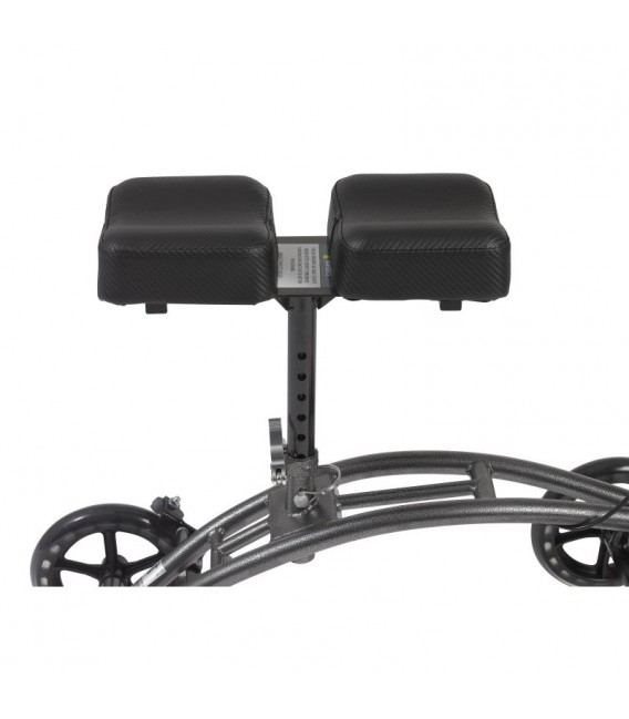 Drive Medical Dual Pad Steerable Knee Walker with Basket