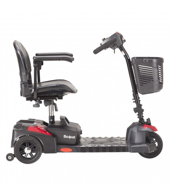 Drive Scout 3 Compact Travel 3-Wheel Scooter - SFSCOUT3