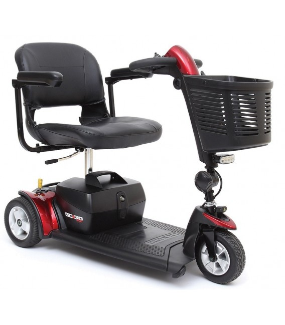 Pride Go-Go Sport 3-Wheel Transportable Scooter - S73
