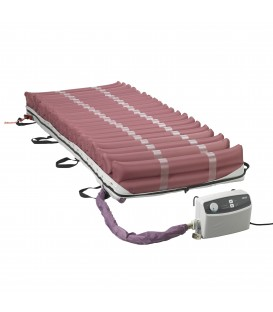 "Med-Aire 8"" Alternating Pressure & Low Air Loss Mattress System by Drive"
