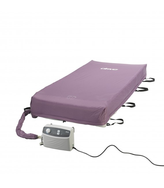 """Med-Aire 8"""" Alternating Pressure & Low Air Loss Mattress System by Drive"""