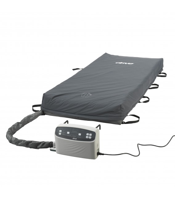 "Med-Aire Plus 8"" Alternating Pressure & Low Air Loss Mattress System by Drive"