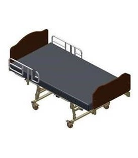 Gendron 4842SD Maxi Rest Acute Care Bariatric Bed - 800lbs