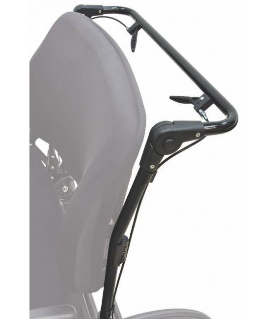 adj angle of stroller bar