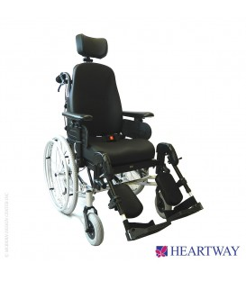 Heartway HW1 Spring  Tilt-n-Space Manual Wheelchair with Elevating Legrests