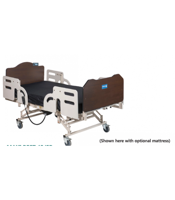 Gendron 4842SD-PSR Maxi Rest Acute Care Bariatric Bed - 800lbs