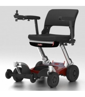 Luggie TravelRider Foldable Bariatric Power Chair by FreeRider