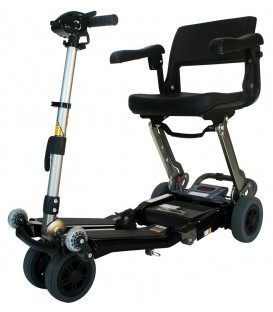 Luggie Super Folding Travel Bariatric 3 Wheel Scooter by FreeRider USA
