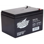 Interstate Battery Pair 12V 12AH  F2 AGM