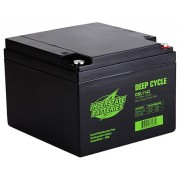 Interstate Battery Pair 12V 26Ah C Terminal AGM