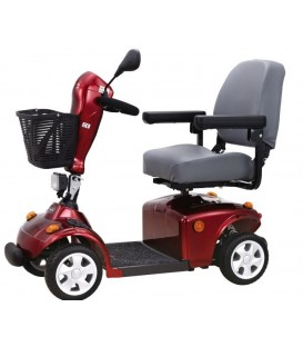 FR 168-4S II 4 Wheel Bariatric Scooter by FreeRider