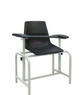 Basic Blood-Drawing Chair Plastic Seat 2571 - Winco