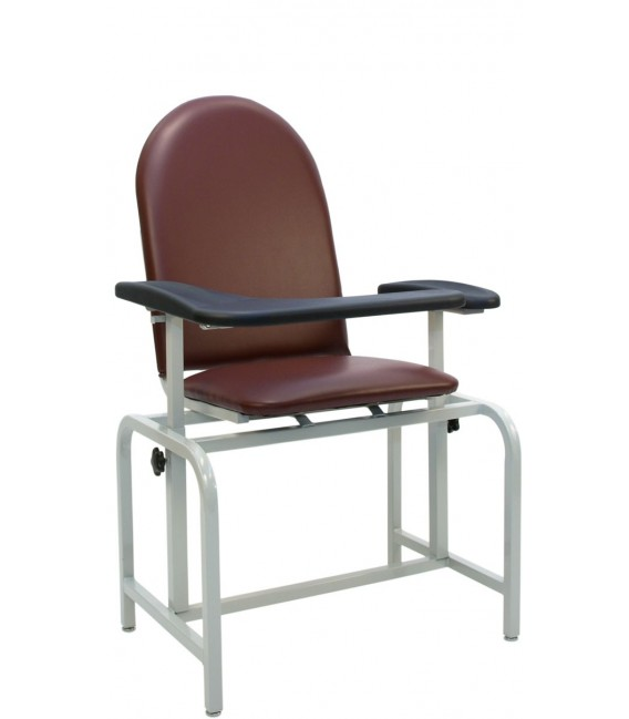 Basic Blood-Drawing Chair Padded Vinyl 2573 - Winco