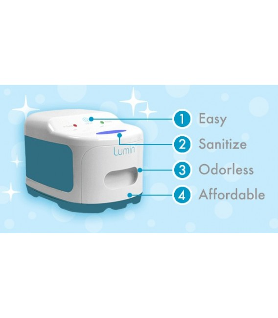 Lumin™ CPAP UV Sanitizer - Compass Health