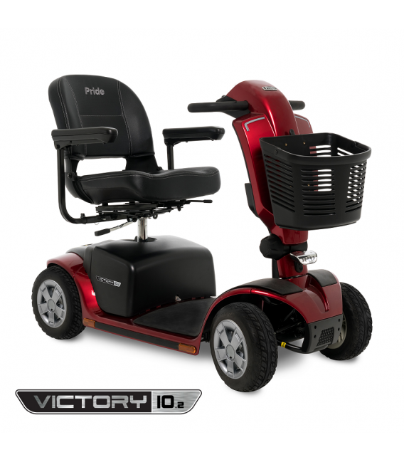 Pride Victory 10.2 Mid-Size 4-Wheel Scooter