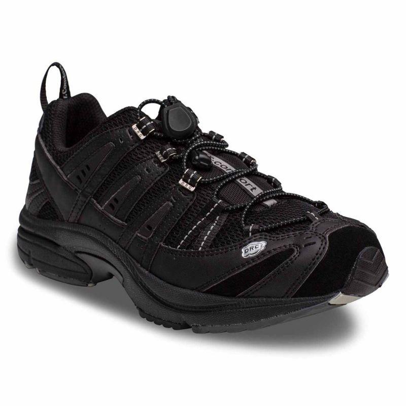 20ea2a2b3639f4 Dr. Comfort Men s Performance Diabetic Shoes - Black - American ...
