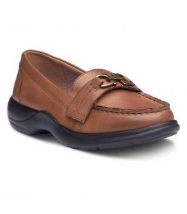 Dr. Comfort Women's Mallory Diabetic Shoes - Brown