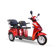 EWheels EW-66 2 Passenger 3-Wheel Bariatric Scooter 600 lbs