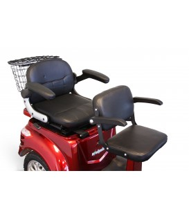 E-Wheels EW-66 2 Passenger 3 Wheel Scooter