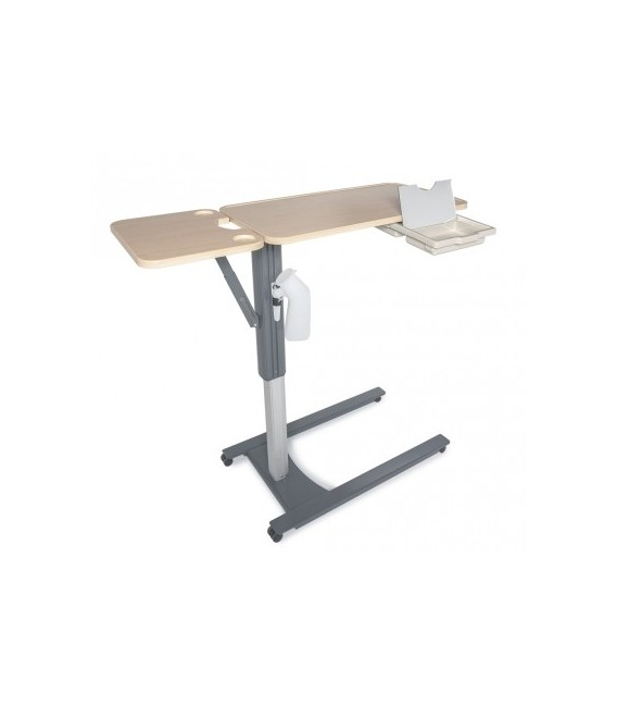 Lumex Overbed Table Single Or Flip Top