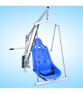 Aqua Creek Super Power EZ Pool Lift - (Anchor Sold Separately) - F-194PHBL-NA