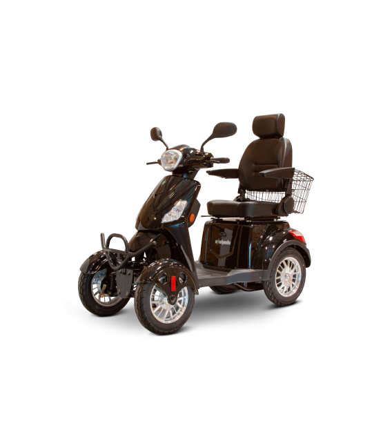 E-Wheels EW-46 Electric Bariatric 4-Wheel Scooter (400 lbs)