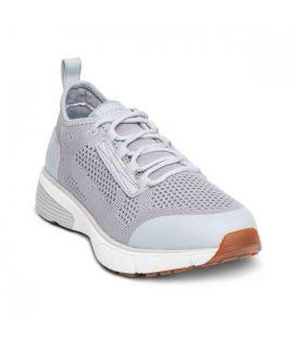Dr. Comfort Women's Diane Diabetic Shoes - Grey