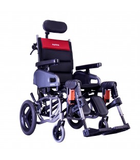 Karman VIP2-TR Tilt and Recline Transport Wheelchair