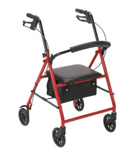 """Rollator with 6"""" Casters by Drive Medical"""