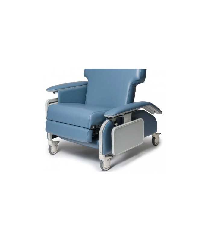 Lumex FR587WD Bariatric Geri Chair Wide Clinical Care Recliner with Drop Arms