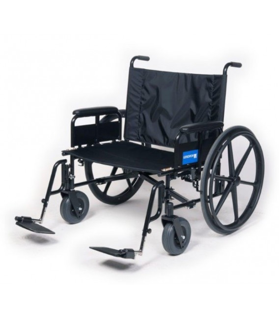 Gendron Regency 525 Bariatric Wheelchair 525 lbs