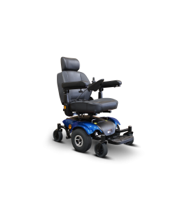 EW-M48 EWheels Power Wheelchair with Deluxe Captain Seat