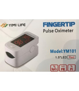 Fingertip Pulse Oximeter, Blood Oxygen Saturation Monitor (SpO2) with LED Displa