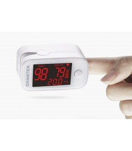 Fingertip Pulse Oximeter, Blood Oxygen Saturation Monitor (SpO2) with LED Display