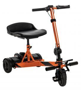 iRide Ultra-lightweight Portable Folding  Travel Scooter-Mango