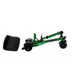 iRide Ultra-lightweight Portable Folding  Travel Scooter- Folded