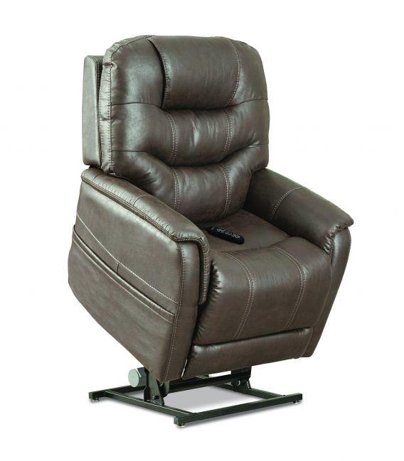 Pride VivaLift! Elegance Reclining Lift Chair - PLR975 Mushroom